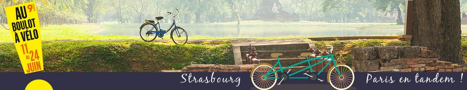 Strasbourg > Paris en tandem : le live !